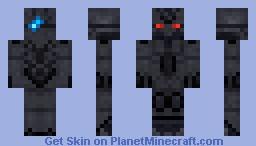 Zekrom Minecraft Skin