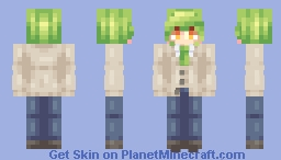 [Kari] Fujishiro Nageki (Human) Minecraft Skin