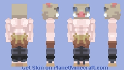 Inosuke Hashibira - Demon Slayer - Minecraft Skin
