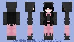 kuromi girl version Minecraft Skin