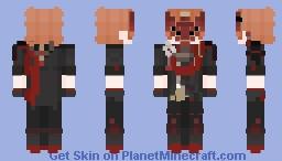 Tartaglia Electro Delusion (2/2) - Genshin Impact Minecraft Skin
