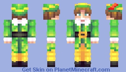 Buddy The Elf, What's Your Favorite Color? Minecraft Skin