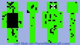 Monsteras Nightmare Minecraft Skin