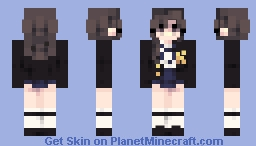 Cool School Girl Minecraft Skin