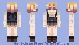 beat in angel Minecraft Skin