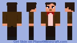 The 11th Doctor (Bow Ties are Cool) Minecraft Skin