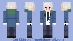 Akise Aru [Recolor] (Mirai Nikki) Minecraft Skin