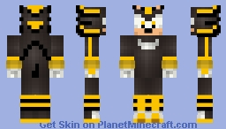 Android Shadow The hedgehog (Sonic Villain Series) Minecraft Skin