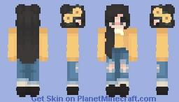 You're a Sunflower Minecraft Skin