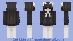 𝘾𝙖𝙩𝙜𝙞𝙧𝙡 Minecraft Skin