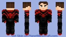 Superior Spiderman (No Mask) Minecraft Skin