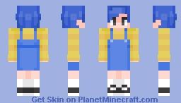 Don't Hug Me I'm Scared (Yellow Guy) [Human Version] Minecraft Skin