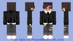 i can't let go Minecraft Skin