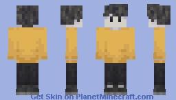 ghostbur Minecraft Skin