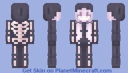 skele. Minecraft Skin