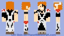 ichigo kurosaki Vast LORD- (guerra 2 mil anos) -BLEACH- Minecraft Skin