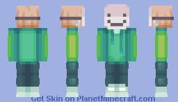 funny man in mask Minecraft Skin