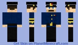 Soviet Navy captain work uniform