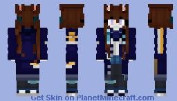 Amiya (Arknights) Minecraft Skin