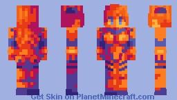 I don't want to die ! - Huevember #16 Minecraft Skin
