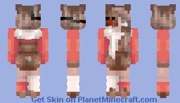 run, run rudolph - old skin Minecraft Skin
