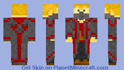 Cloaked Man (hood off) Minecraft Skin