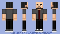 JB Blanc Voice Actor To Admin/Human Romeo From Minecraft Story Mode! =3 Minecraft Skin