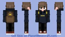 Ethan dressed for school Minecraft Skin