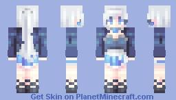 ♡ 𝓿𝒶𝓁𝓀𝓎𝓇𝒾𝑒𝓃 ♡ weiss schnee // rwby Minecraft Skin