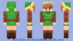 Link | The Legend of Zelda Minecraft Skin