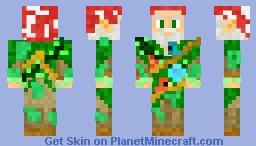 Forest wizard Minecraft Skin