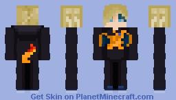 Bruh, I got ma Char Minecraft Skin