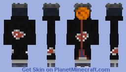 Tobi: Naruto Shippuden Minecraft Skin