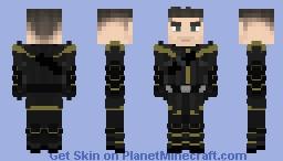 Avengers Endgame: Ronin [Hawkeye / Clint Barton] Minecraft Skin