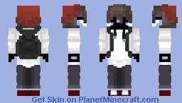 Ghost dude variant Minecraft Skin