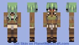 Emerald Sustrai // RWBY Minecraft Skin