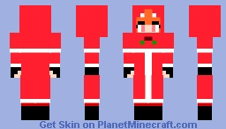 Red Panda from Roblox Arsenal (Holiday veriation) Minecraft Skin