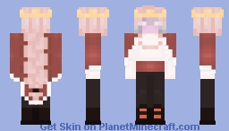 Technoblade VS Dream - Milkrams edit Minecraft Skin