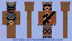 Tactical beast Minecraft Skin