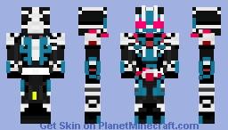 Kamen rider Ichigata Minecraft Skin