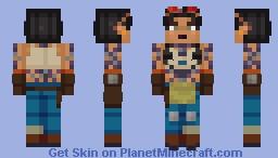 FORTNITE: JULES (40) Minecraft Skin