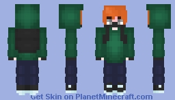 FNF Soft Pico Minecraft Skin