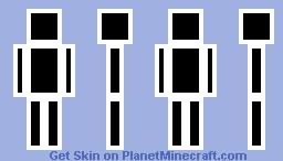 Outline Minecraft Skin