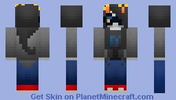 Shaded Vriska from homestuck Minecraft Skin