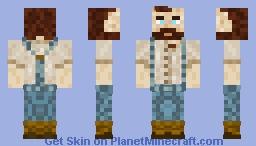 AquaMarine Tea, fantasy bearded guy Minecraft Skin