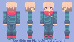 ~Yuji Itadori~ Minecraft Skin