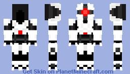 E.M.M.I. (Metroid Dread) (White) Minecraft Skin
