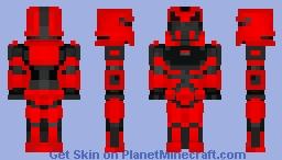 Custom Sith Trooper Minecraft Skin