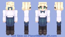 Saber (Artoria Pendragon) Minecraft Skin