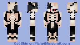 Zenon 100% Possession (Black Clover) Minecraft Skin